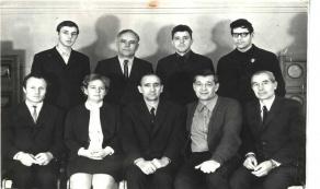 Такой была кафедра электротехники 50 лет назад