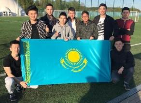 Студенты из Казахстана посетили футбольный матч U-17