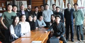 Студенты из Республики Казахстан ознакомились с музеем истории культуры и быта белорусского крестьянства