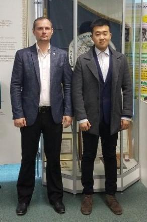 БГАТУ посетил представитель HOPE EDUCATION GROUP (КНР)
