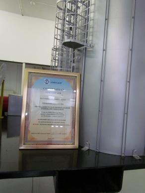 Макет зерносушильного комплекса ЗСК-40 от ООО «Амкадор-Можа»