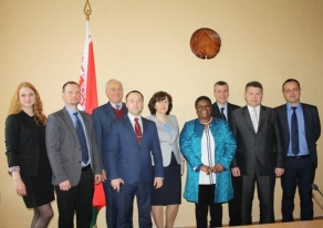 Визит Посла Южно-Африканской Республики в Российской Федерации и Республике Беларусь