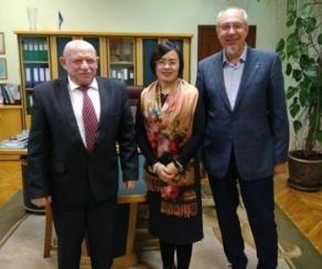 БГАТУ посетили представители Украинско-китайского центра развития культуры и образования