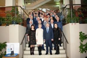 Визит Министра сельского хозяйства и продовольствия Республики Беларусь И.И. Крупко в БГАТУ