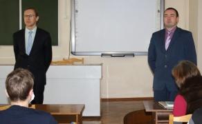 Встреча с заместителем прокурора Первомайского района